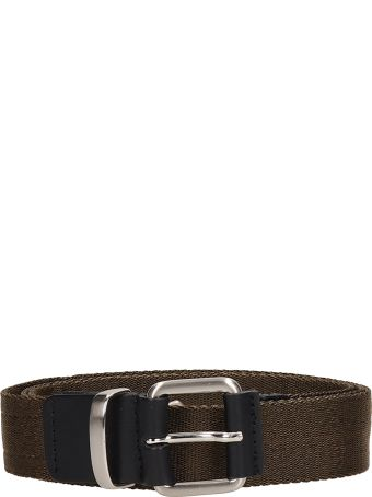 Low Brand Green Fabric Belt