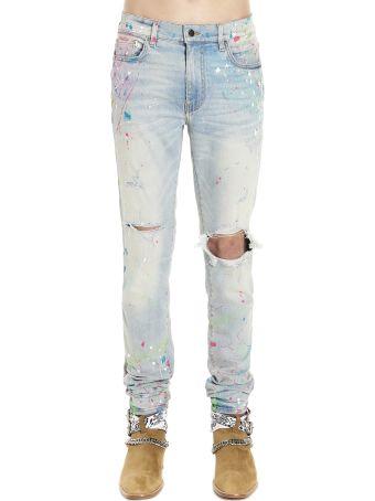 AMIRI 'graffiti' Jeans