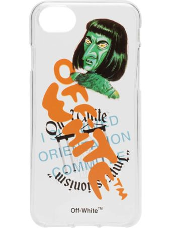 Off-White Iphone 8 Green Man Case