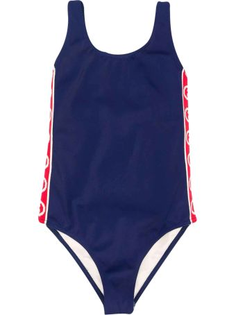 Gucci One-piece Blue Swimsuit