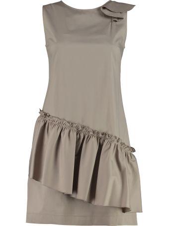 D.Exterior Poplin Mini Dress