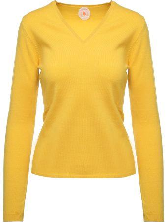 Jardin des Orangers V-neck Cashmere Sweater