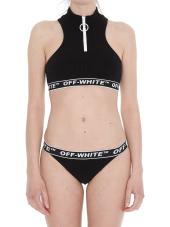 Off-White Logo Swimsuit
