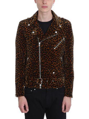 Route des Garden Leopard Velvet Jacket