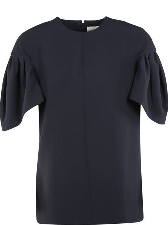 Victoria Beckham Tuck Sleeve Top