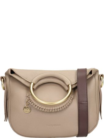 See by Chloé Grey Leather Monroe Small Bag