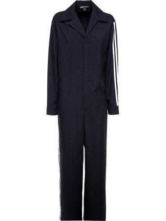 Y-3 Signature Stripe Wool Jumpsuit