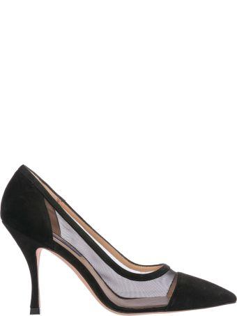 Stuart Weitzman  Suede Pumps Court Shoes High Heel Monroe