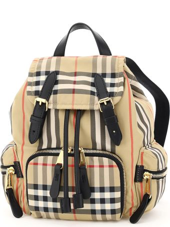 Burberry Vintage Check Rucksack