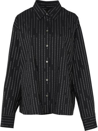 Ben Taverniti Unravel Project Oversize Striped Shirt