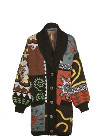 Etro Floral Cardi-coat
