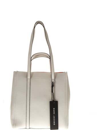 Marc Jacobs The Tag Porcellain Grained Leather Tote