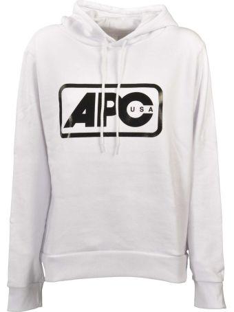A.P.C. Logo Hoodie