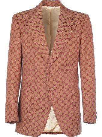 Gucci Gg Supreme Monogram Blazer