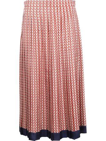 Valentino Optical V Skirt