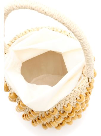 Sensi Studio Mini Wicker Bucket Bag