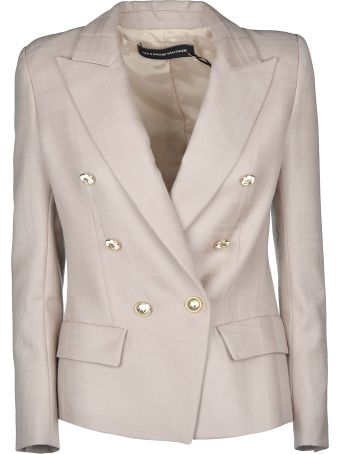 Alexandre Vauthier Double Breasted Short Blazer