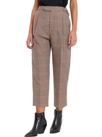 MONSE Checkered Trousers