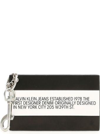 Calvin Klein Unisex Logo Key Charm