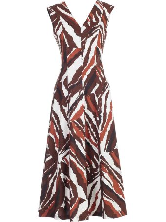 SEMICOUTURE Erika Cavallini Printed Dress