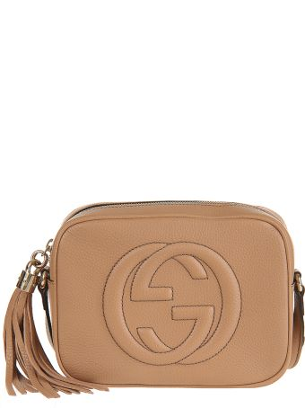 Gucci Beige Small Soho Discobag Bag