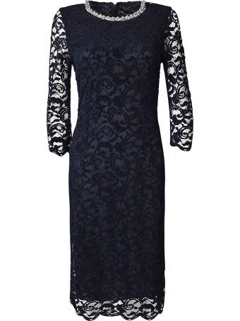 Ermanno Ermanno Scervino Lace Detail Dress