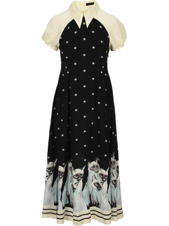 Undercover Jun Takahashi Undercover Painted Cat Dress