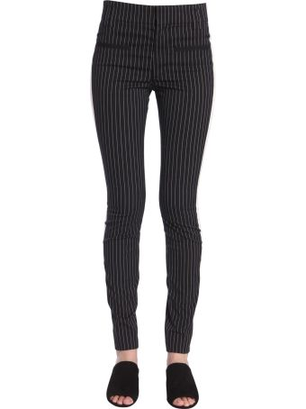 Haider Ackermann Slim Fit Pinstriped Trousers