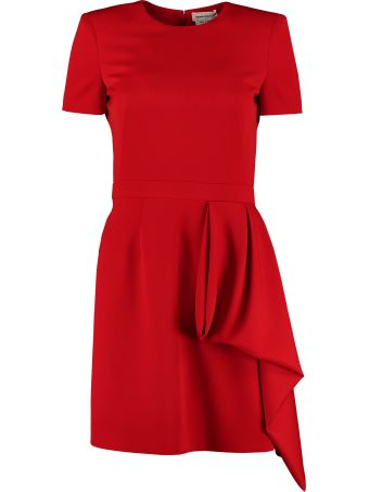 Alexander McQueen Virgin Wool Dress