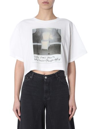 MM6 Maison Margiela Crop T-shirt
