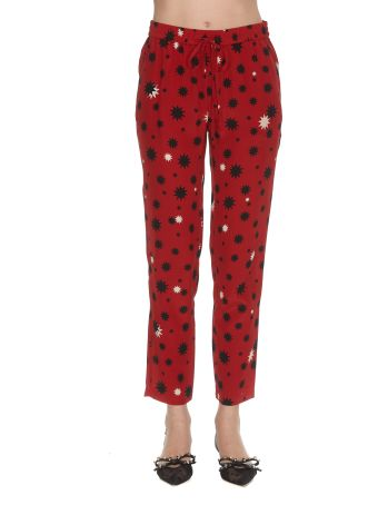 RED Valentino Stars And Shadows Print Trousers