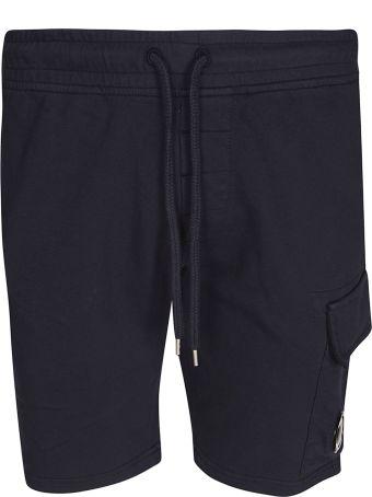 C.P. Company Drawstring Waist Shorts