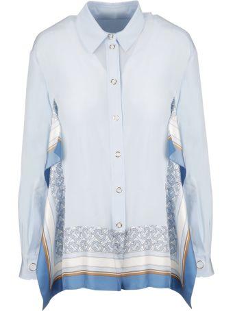 Burberry Print Trim Shirt
