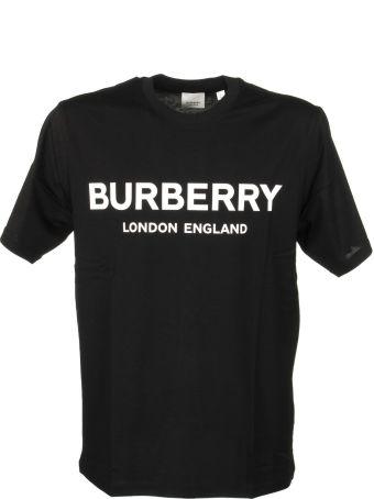 Burberry Logo Print Cotton T-shirt