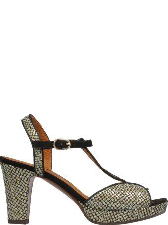 Chie Mihara Patterned Platform Sandals