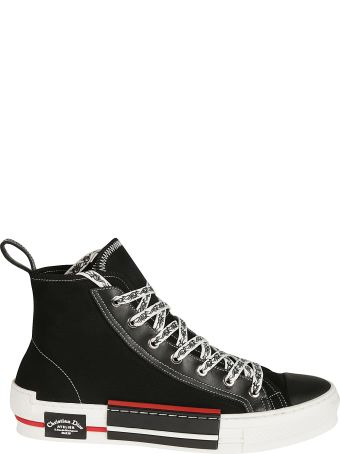 Christian Dior Street Style Plain Sneakers