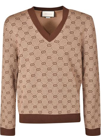 Gucci V-neck Jumper