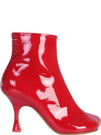 MM6 Maison Margiela Kitten Heel Ankle Boots