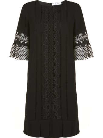 Blugirl Lace Detailing Dress