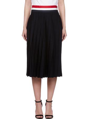 Thom Browne Grosgrain Waistband Skirt