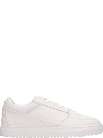 Etq White Leather Low 3 Sneakers