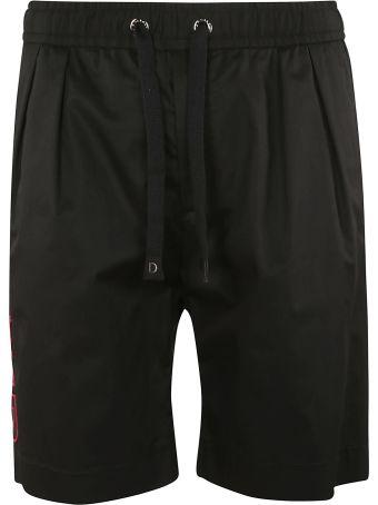 Dolce & Gabbana Side Stripe Track Shorts