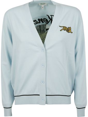 Kenzo Embroidered Tiger Cardigan