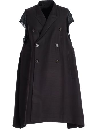 Rick Owens Double Breasted Coat