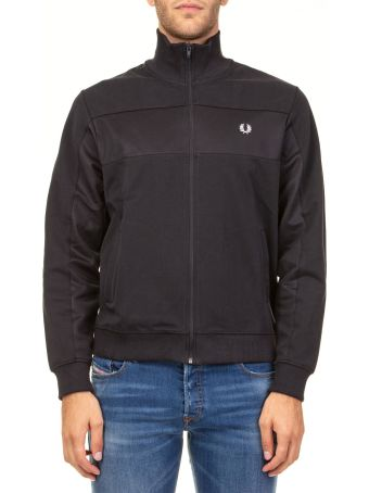 Fred Perry Panelled Track Sweatshirt