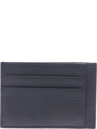 Canali Leather Card Holder