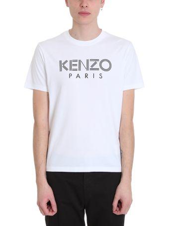 Kenzo White Cotton T-shirt