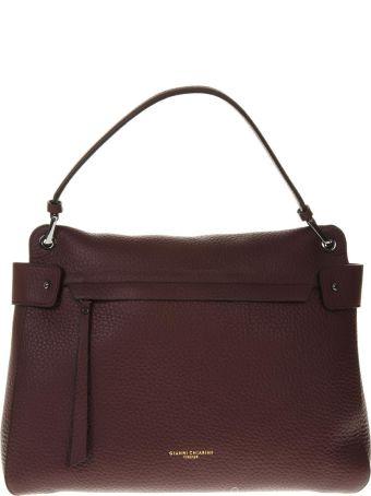 Gianni Chiarini Merlot Color Leather Bag