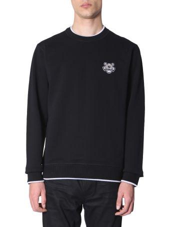 Kenzo Sweatshirt With Patch Tiger