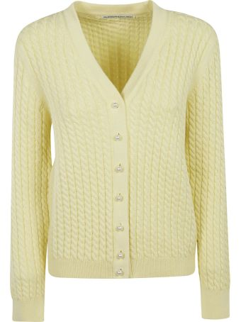 Alessandra Rich Buttoned Cardigan